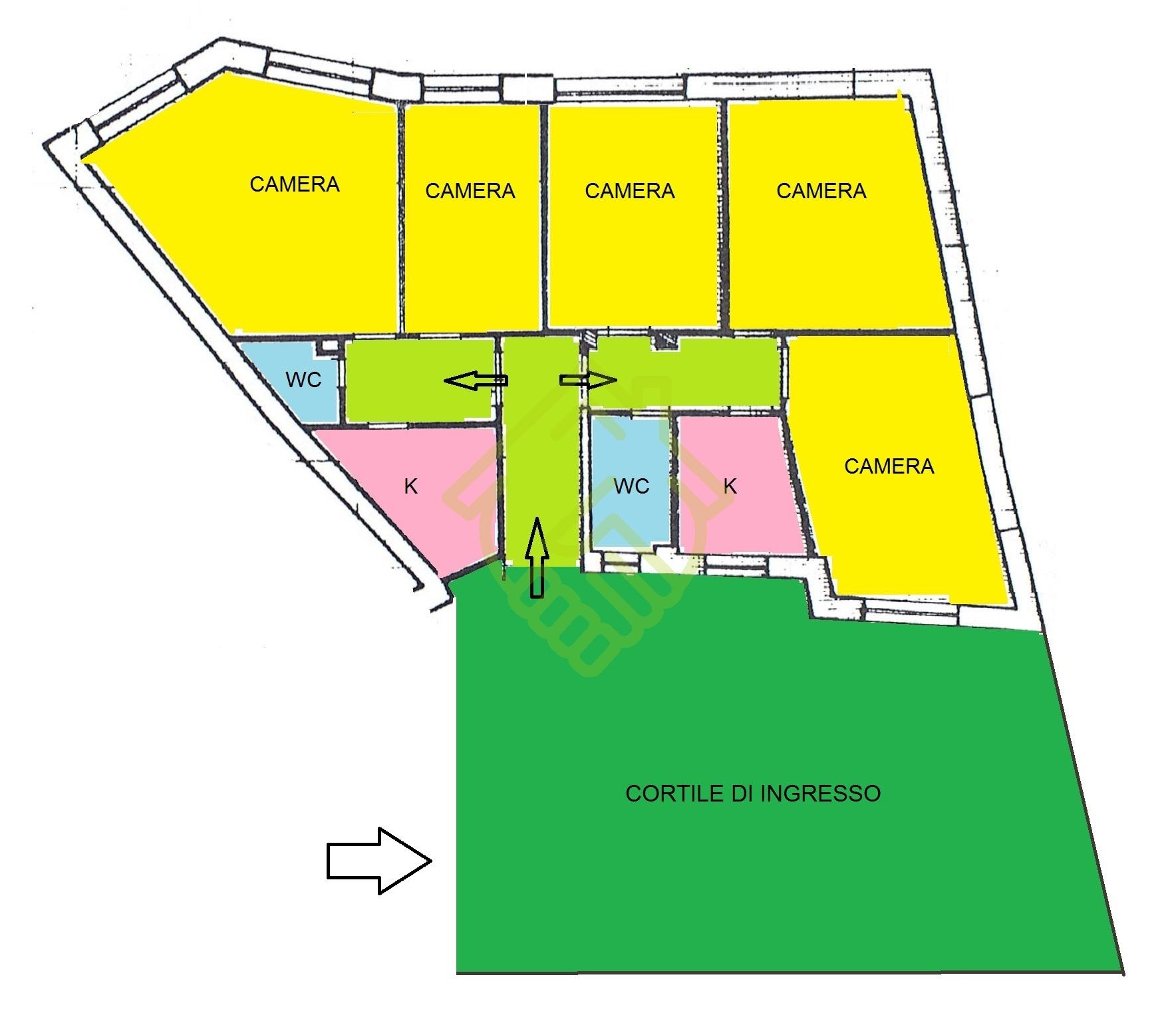 NAPOLI – CAMALDOLI 115mq DA RISTRUTTURARE